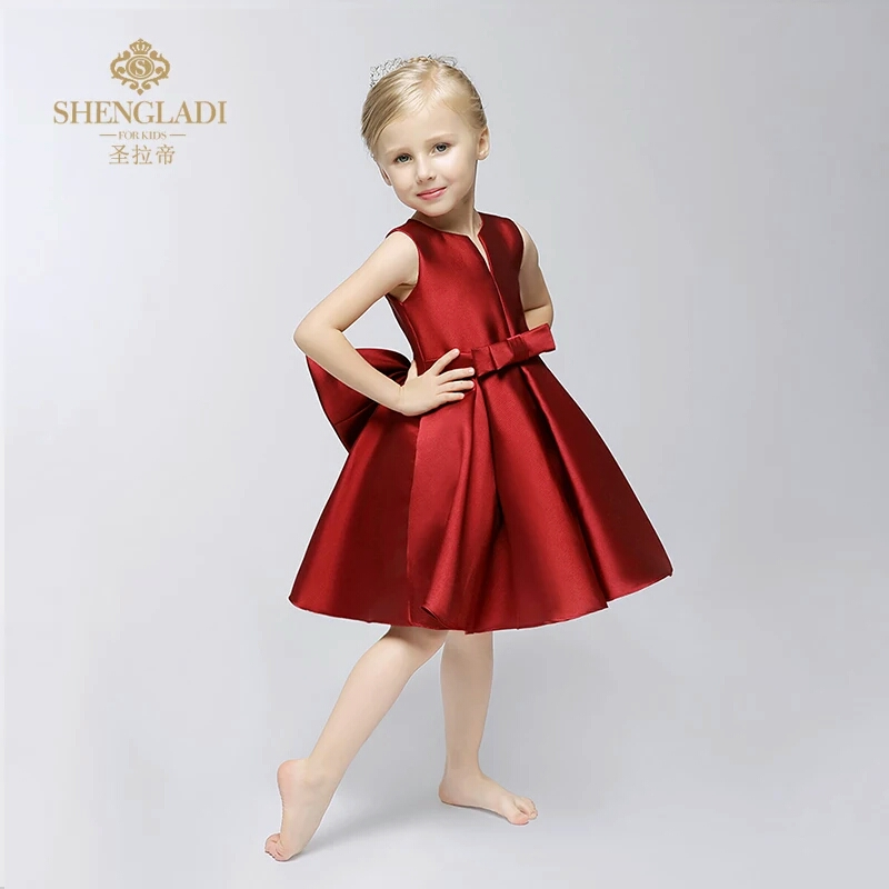 Pretty Girl Dress Wedding Little Clothing Flower Dirl Dresschildren Children
