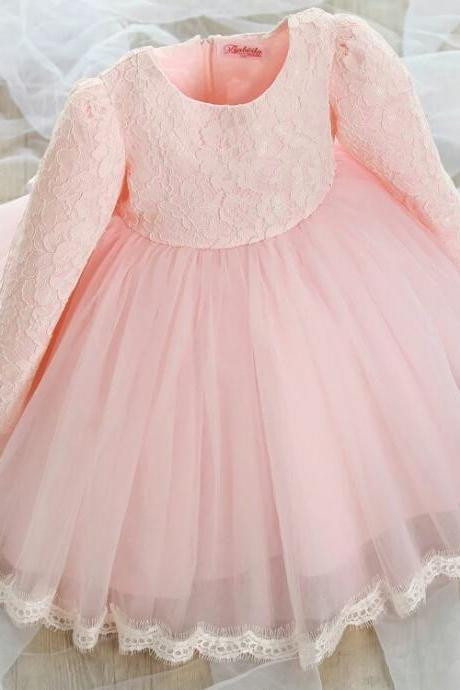 Pretty girl dress, wedding dress, little girl clothing, flower dirl dress,children dress, children clothing
